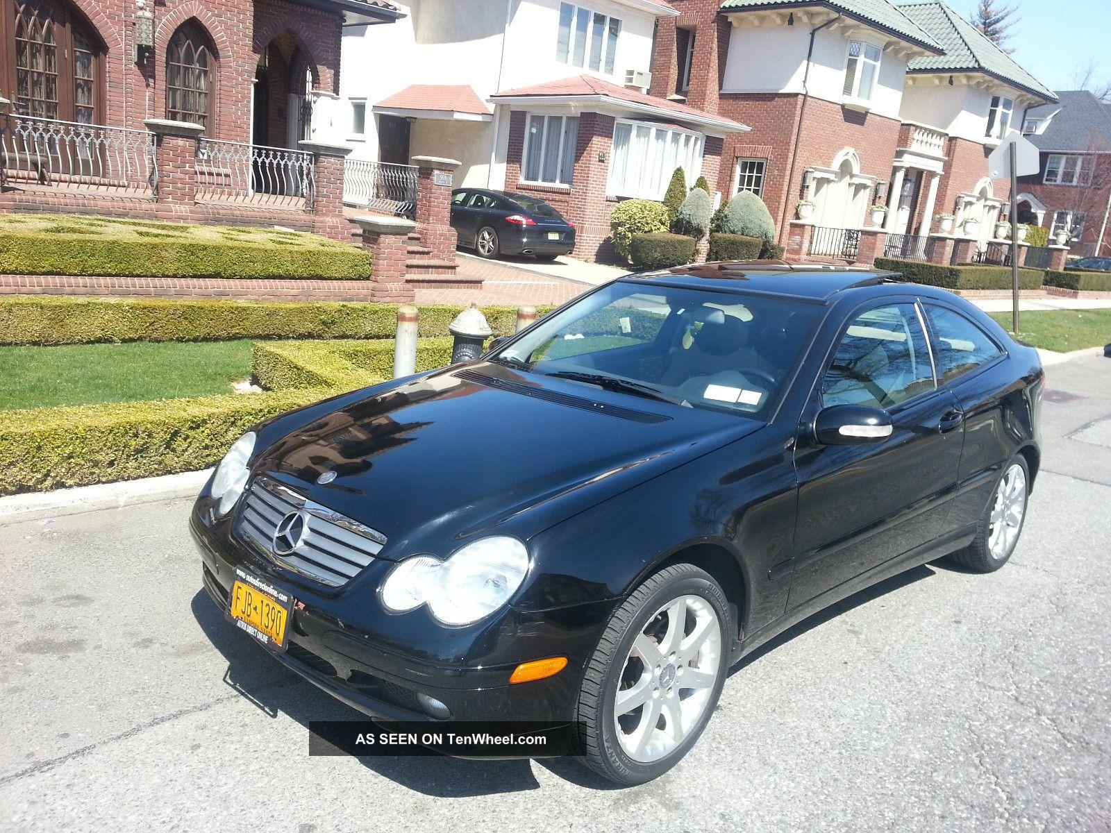 2002 Mercedes - Benz C230 Kompressor Coupe 2 - Door 2.  3l C-Class photo