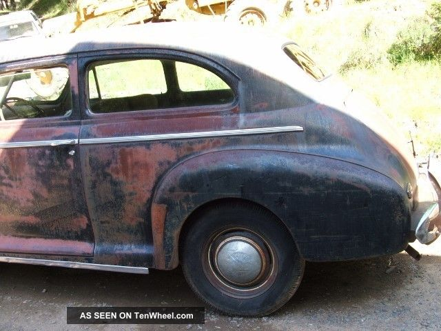 1941 chevrolet 2 door sedan for 1941 chevy 4 door sedan