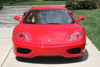 2001 Modena,  Red / Tan,  F1 Auto / Paddles,  Challenge Grill,  Red Calipers,  Shields photo