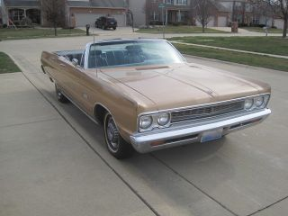 1969 Plymouth Sport Fury Convertible photo