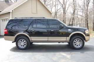 2012 Ford Expedition El King Ranch Sport Utility 4 - Door 5.  4l photo