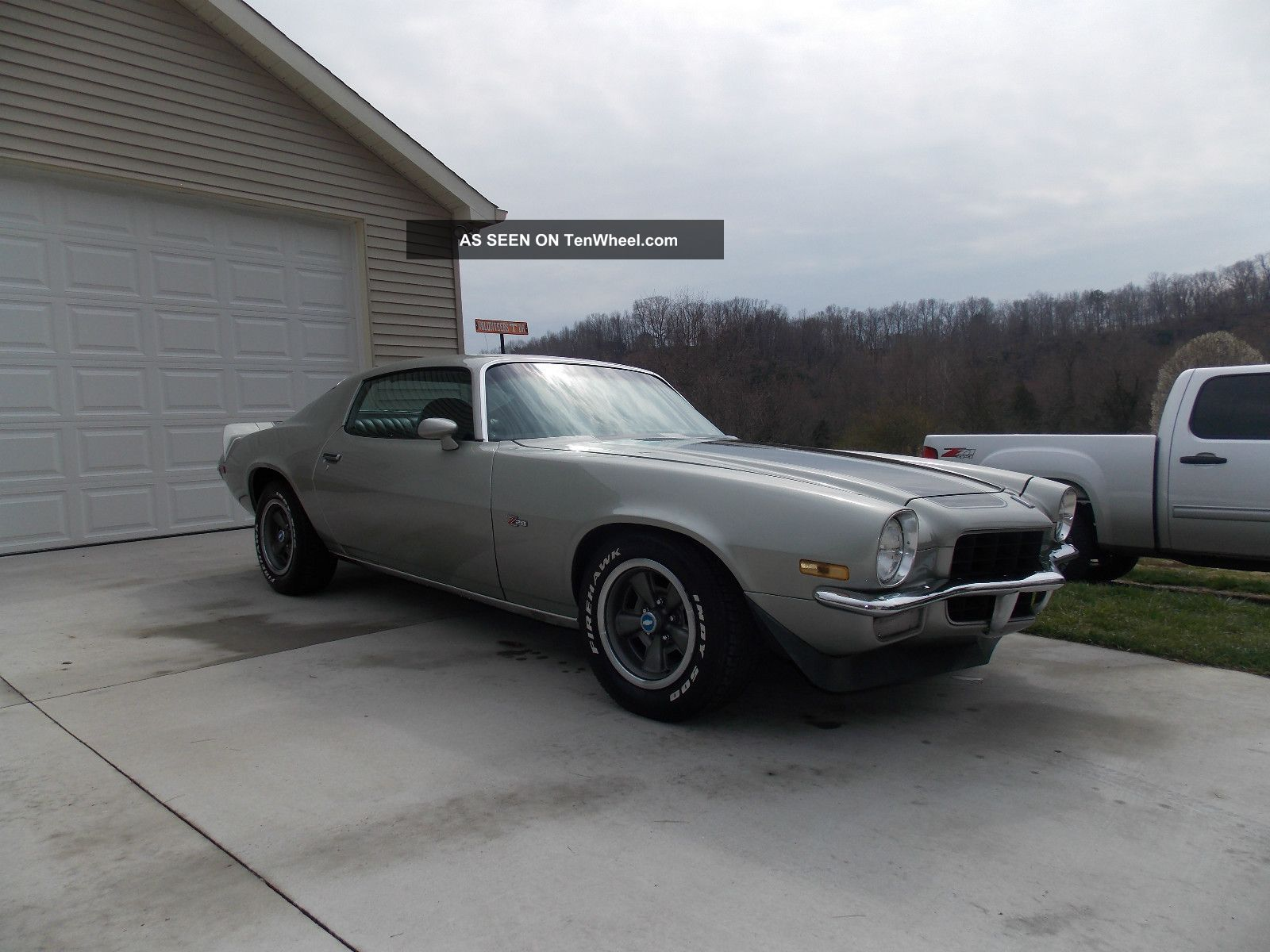 1972 Chevrolet Z28 Real Deal Numbers Matching