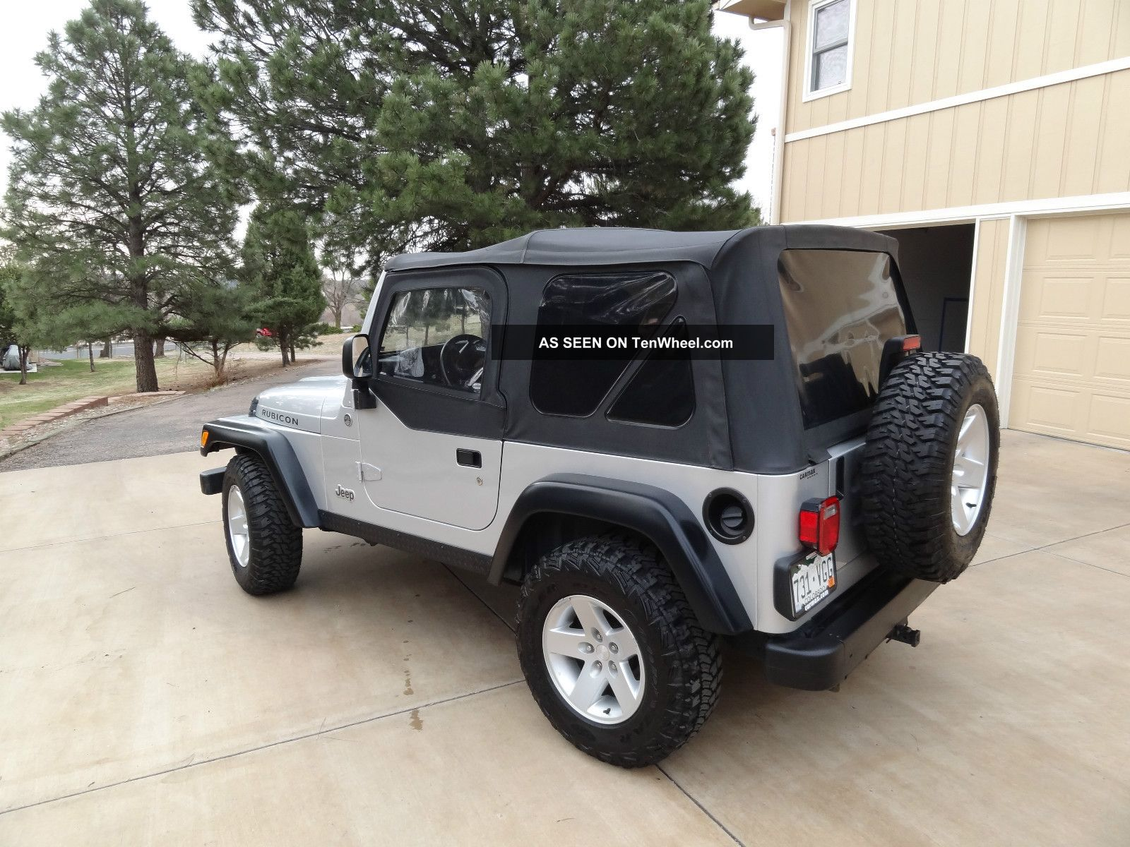 2005 jeep wrangler rubicon sport utility 2 door 4 0l. Black Bedroom Furniture Sets. Home Design Ideas