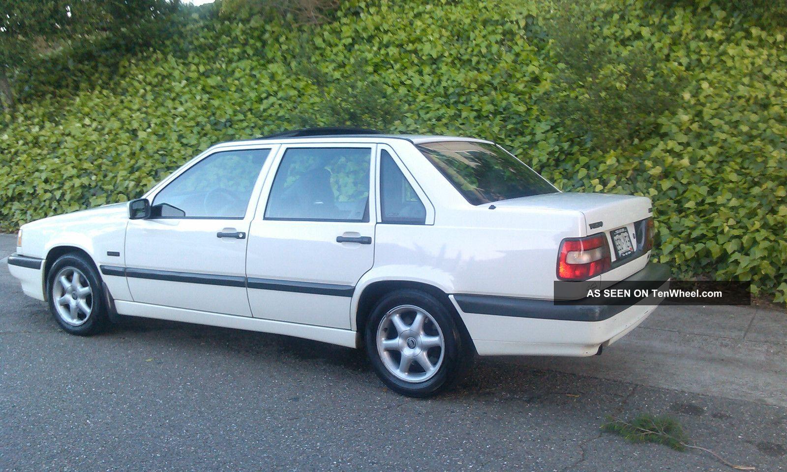 Rust Volvo Glt Sport Sedan Rblt Engine Runs Drives Great Lgw on 1996 Volvo 850 Interior