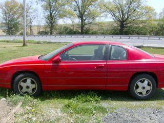 1999 Chevrolet Monte Carlo Ls Coupe 2 - Door 3.  8l photo