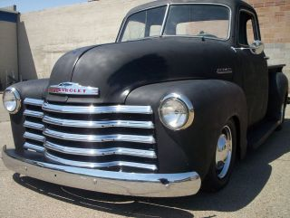 1951 Chevy Pickup 5 Window Rat Rod photo
