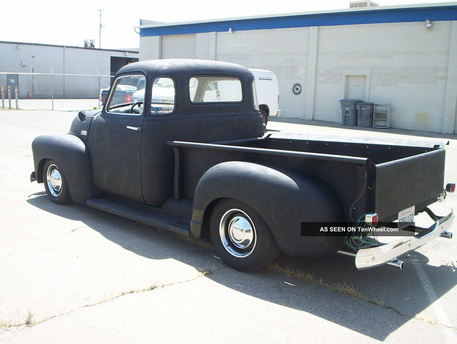 1951 chevy pickup 5 window rat rod