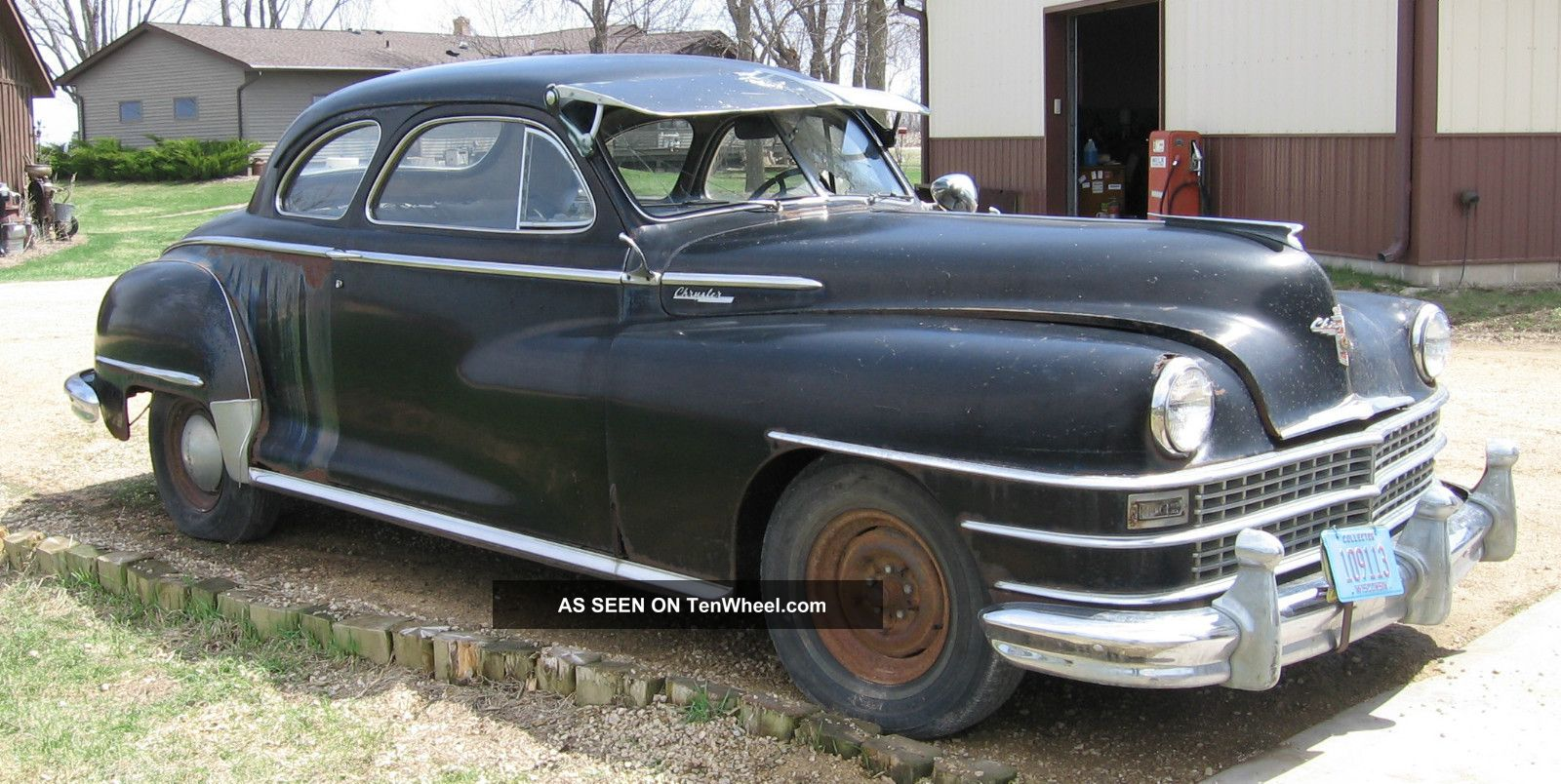 1948 Chrysler Windsor 5 Passenger Coupe