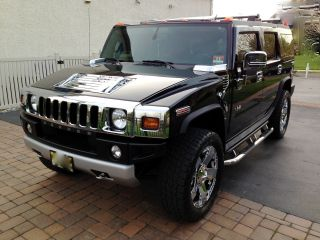 2008 Black Hummer H2 Suv,  Sedona Interior, , photo