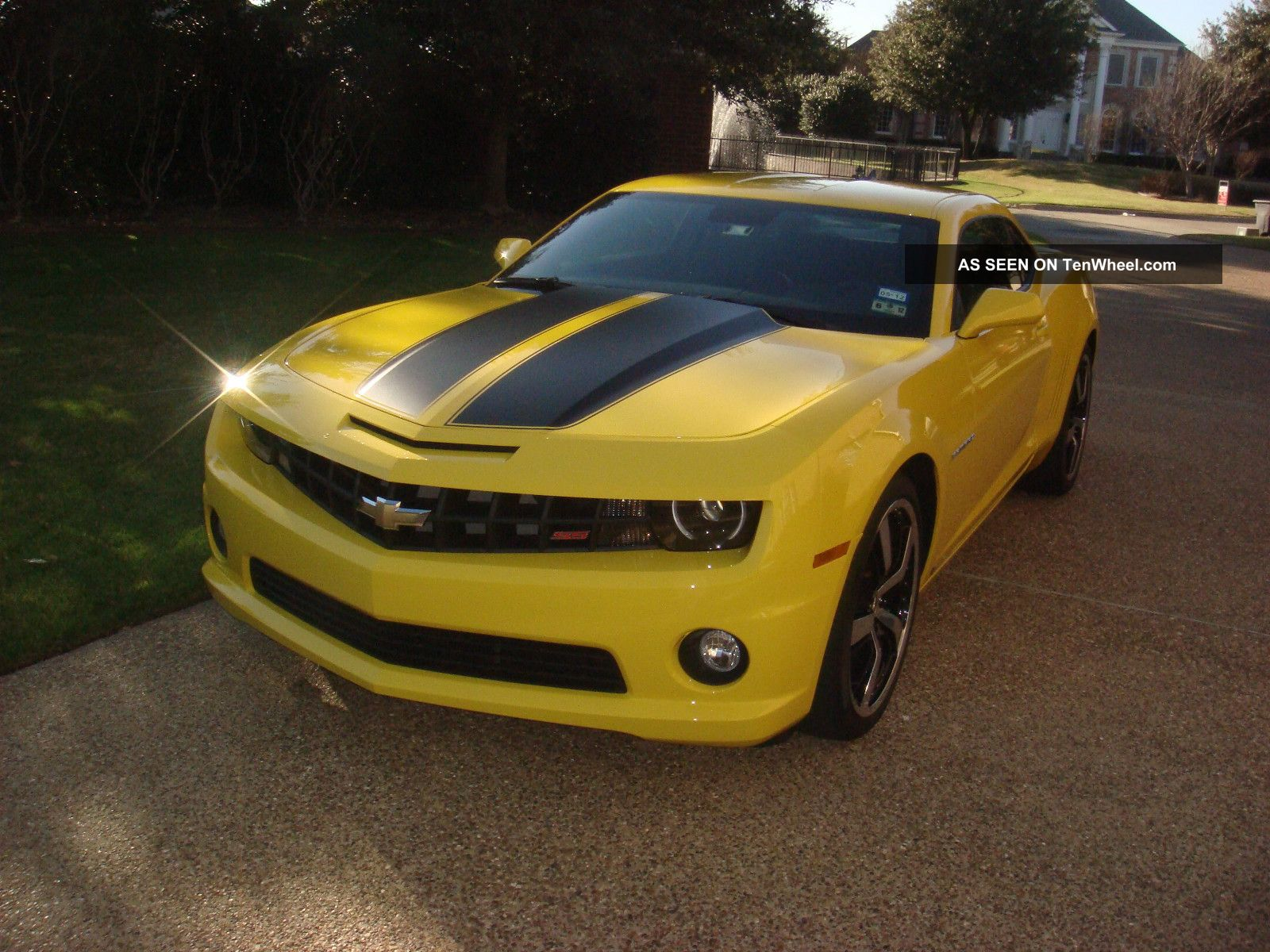 2010 chevrolet camaro 2ss rs w special factory 21. Black Bedroom Furniture Sets. Home Design Ideas