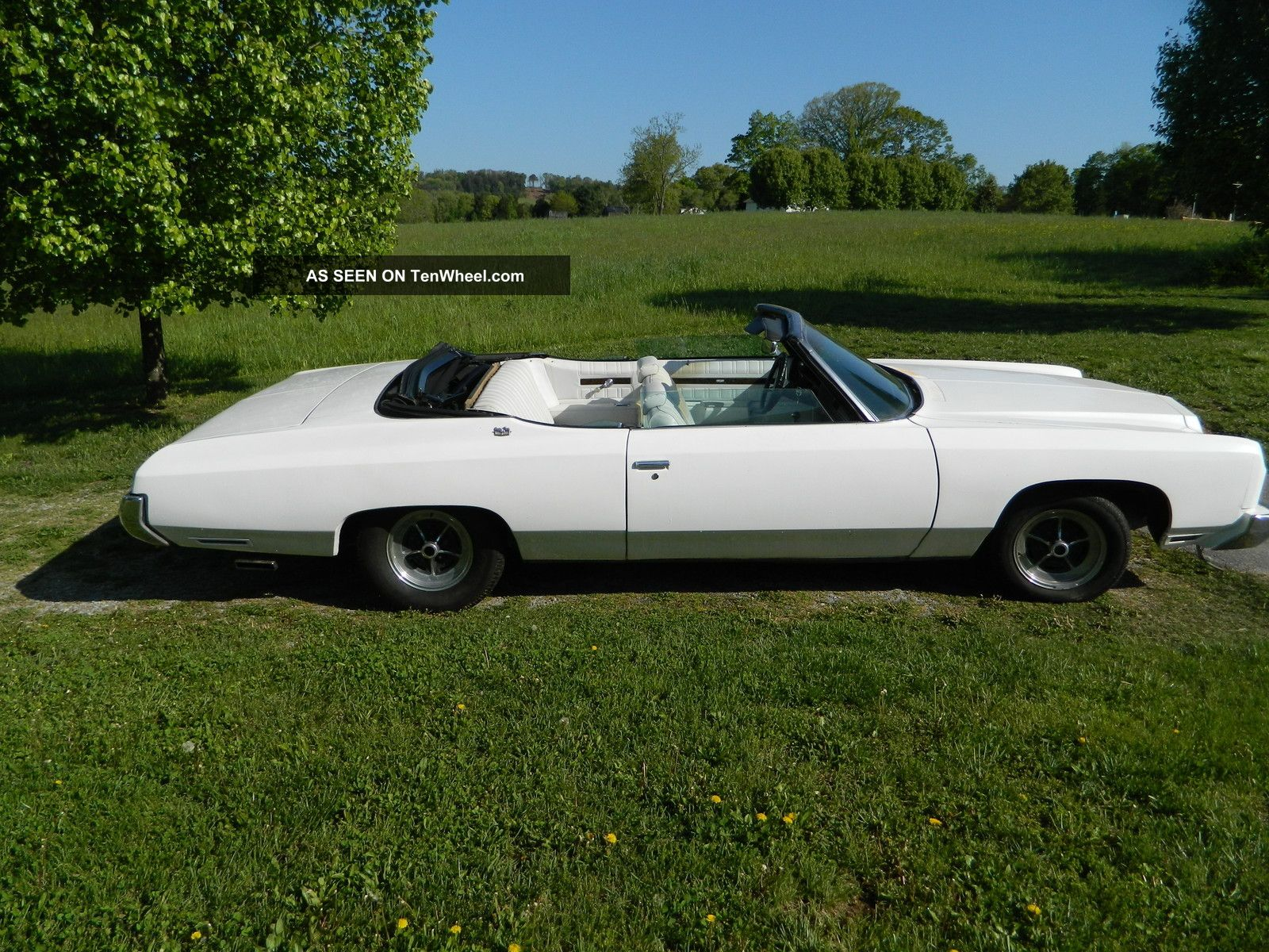 1973 Chevrolet Caprice Classic Convertible 2 - Door 6.  6l Caprice photo