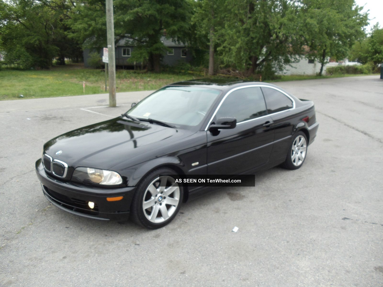 2002 Bmw 325ci 5 Speed Manual Black 2 Door Coupe 3-Series photo