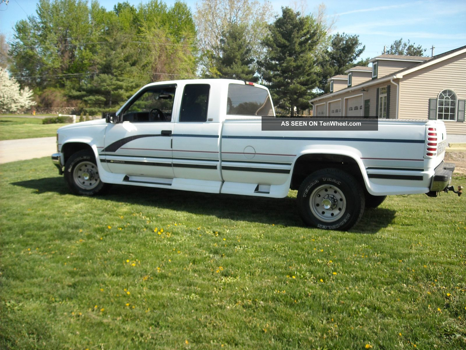 1997 chevy silverado 2500 pickup w extended cab and long bed. Black Bedroom Furniture Sets. Home Design Ideas