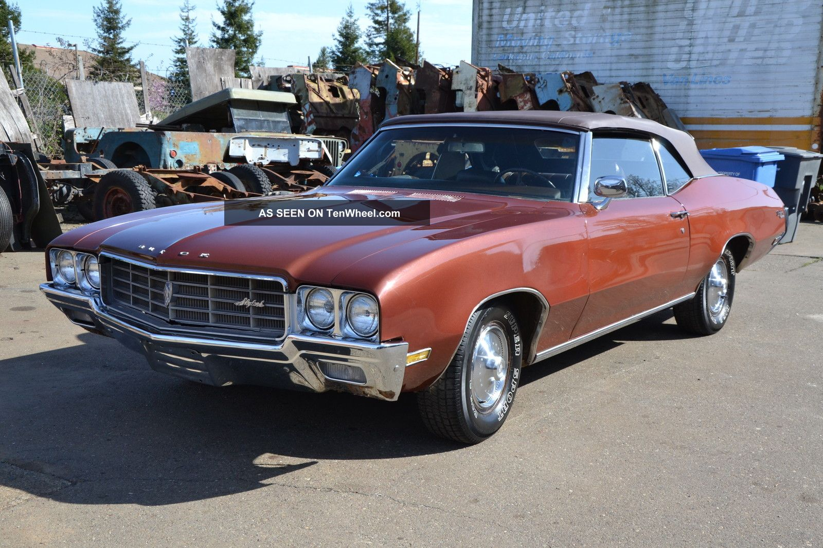 1970 Buick Skylark Convertible Cruiser Recent Restoration Work