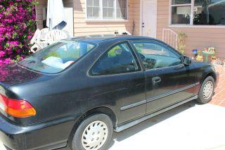 1996 Honda Civic Dx Coupe 2 - Door 1.  6l photo