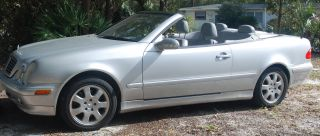 2001 Mercedes Clk320 Convertible photo