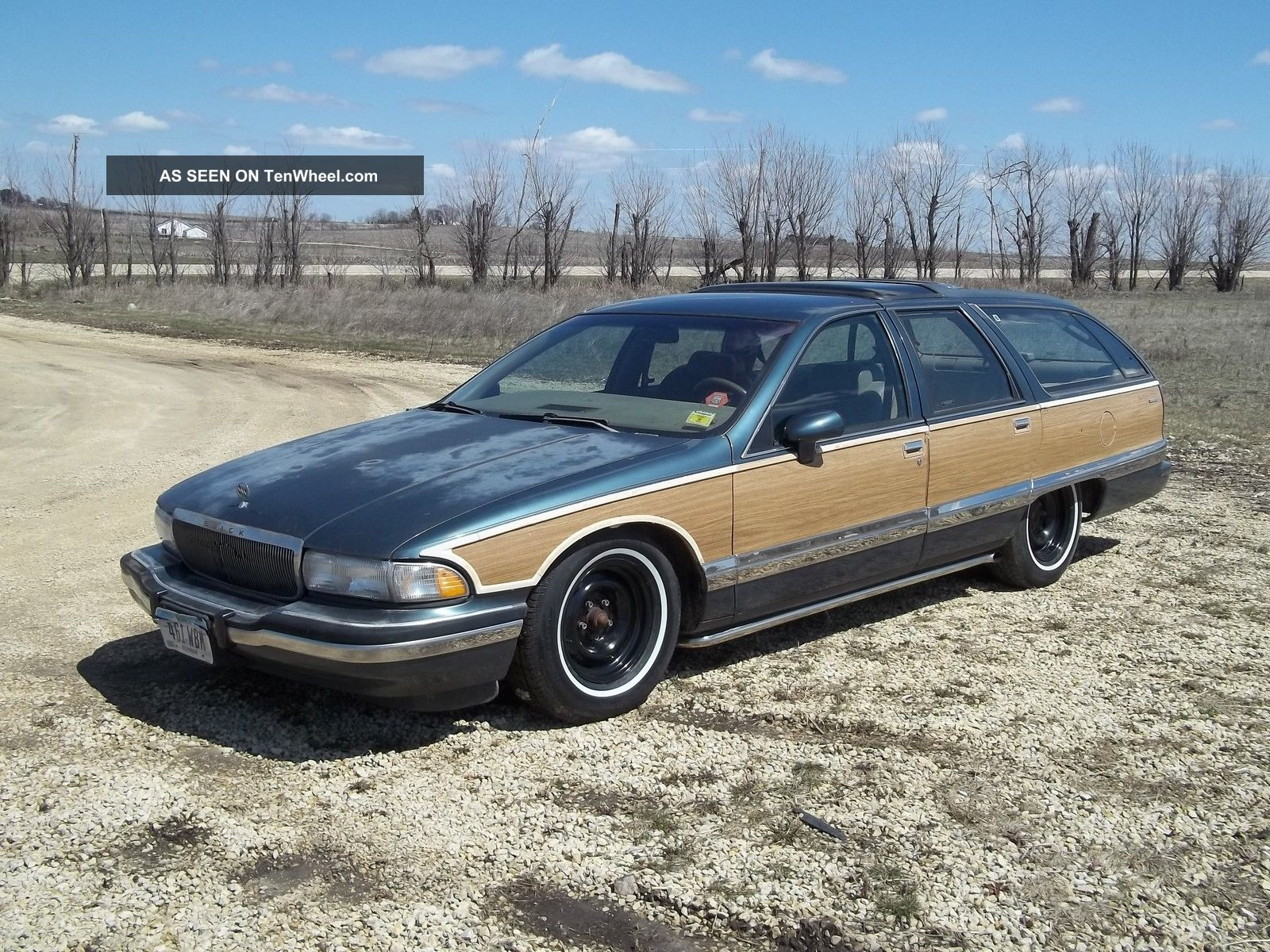 1993 buick roadmaster estate wagon 3rd row seats mild custom belltech spindles. Black Bedroom Furniture Sets. Home Design Ideas