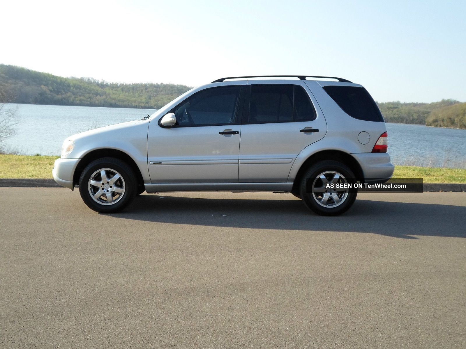 2004 mercedes benz ml350 inspiration pckg 82k