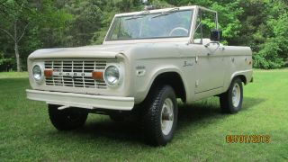 1970 Ford Bronco 4x4 Early Bronco photo