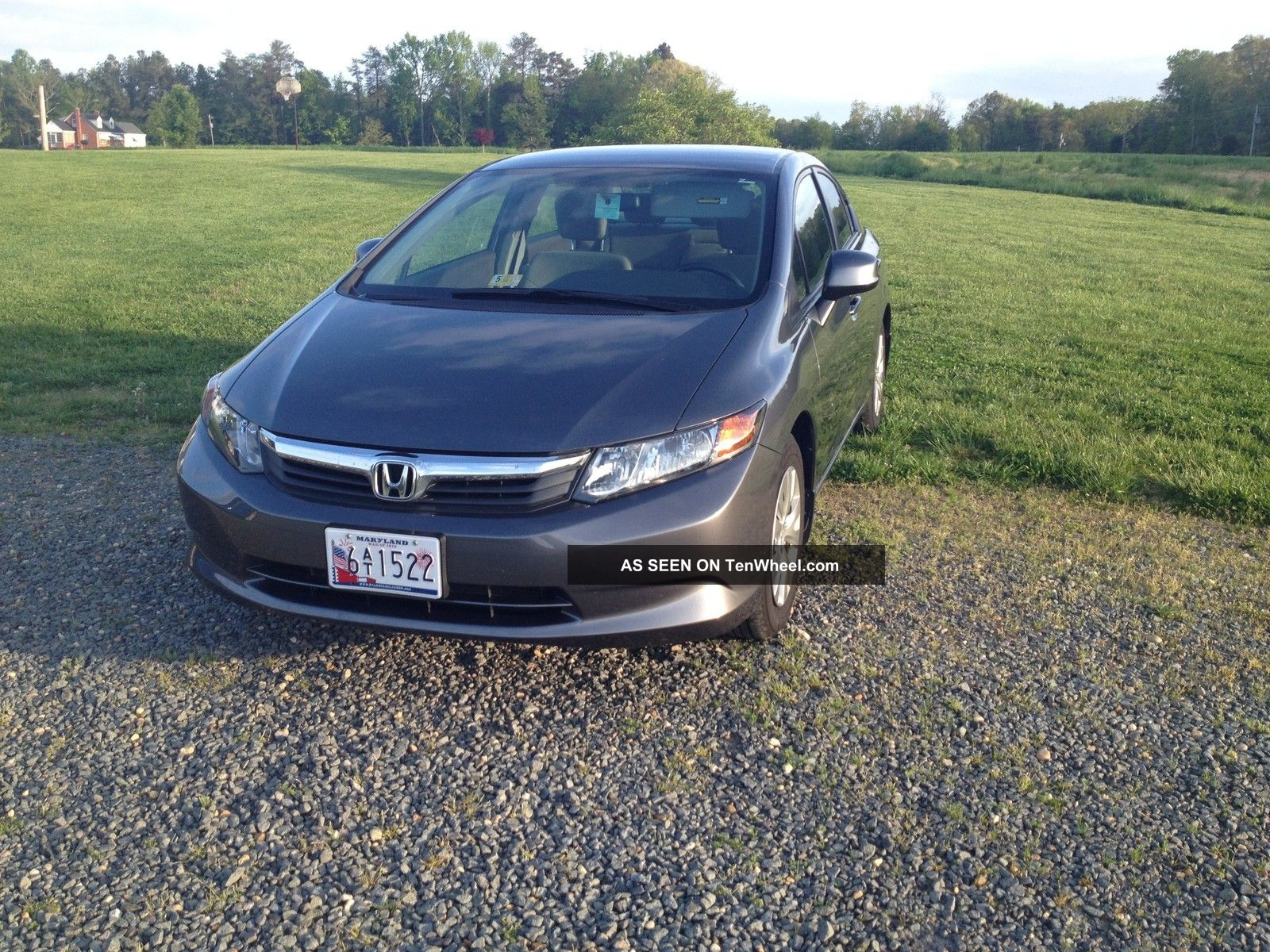 2012 Honda Civic Lx Sedan 4 - Door 1.  8l Civic photo