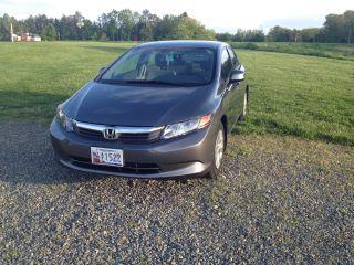 2012 Honda Civic Lx Sedan 4 - Door 1.  8l photo