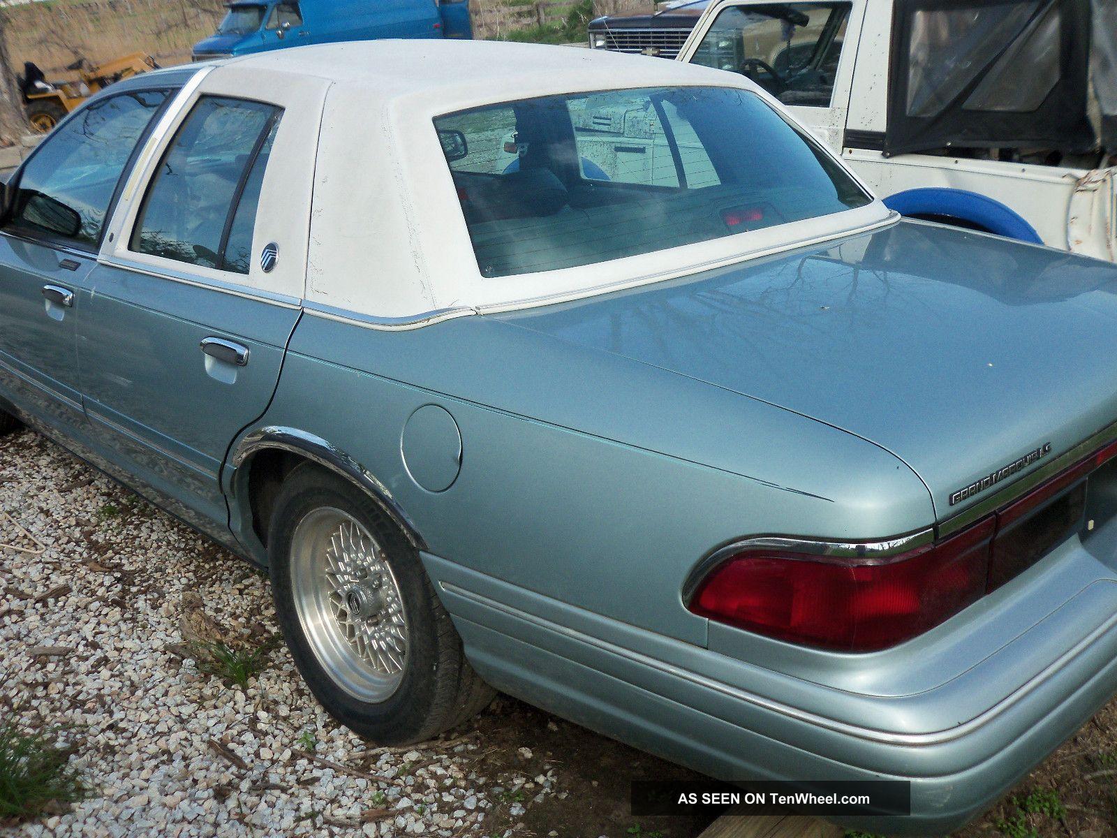1996 Mercury Grand Marquis Ls Sedan 4 - Door 4.  6l Grand Marquis photo