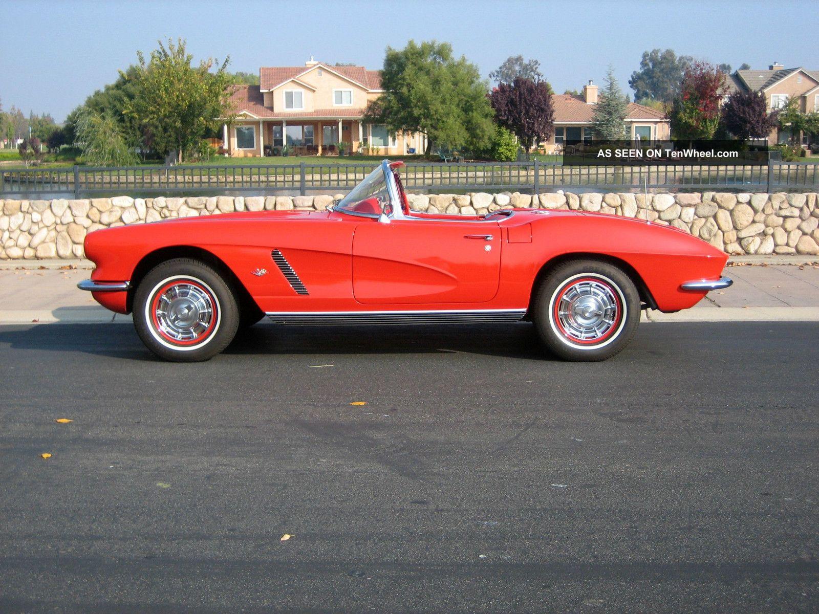Exceptionally 1962 Corvette