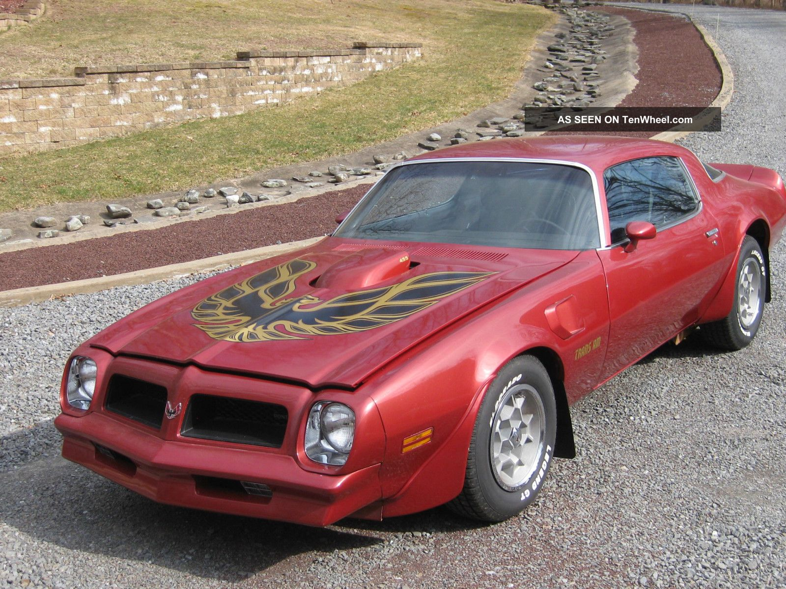 1976 pontiac firebird trans am coupe 2 door 7 5l. Black Bedroom Furniture Sets. Home Design Ideas