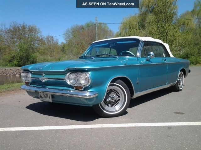 1964 Corvair Monza Convertible 110 Hp W / Automatic Transmission - Corvair photo