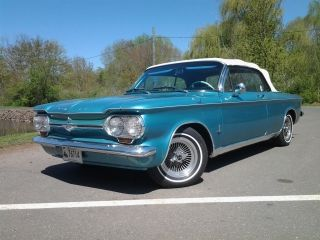 1964 Corvair Monza Convertible 110 Hp W / Automatic Transmission - photo