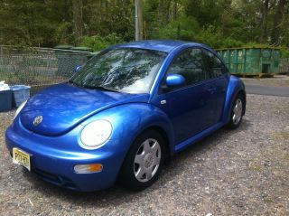 1999 Volkswagen Beetle Tdi 5 Speed. photo