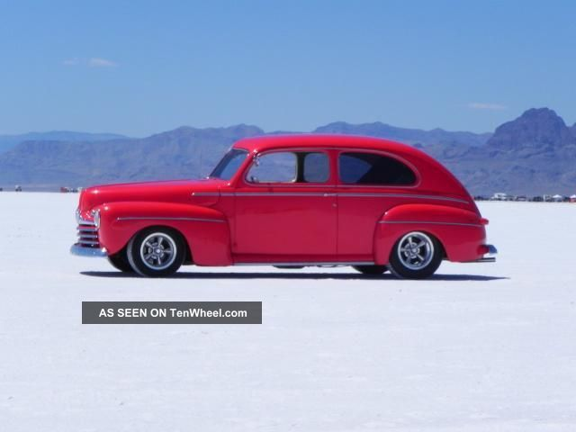 """1946 Ford 2 Door Sedan,  A / C,  Chevy 350 / 700r Overdrive,  Ford 9"""",  Air Suspension Other photo"""