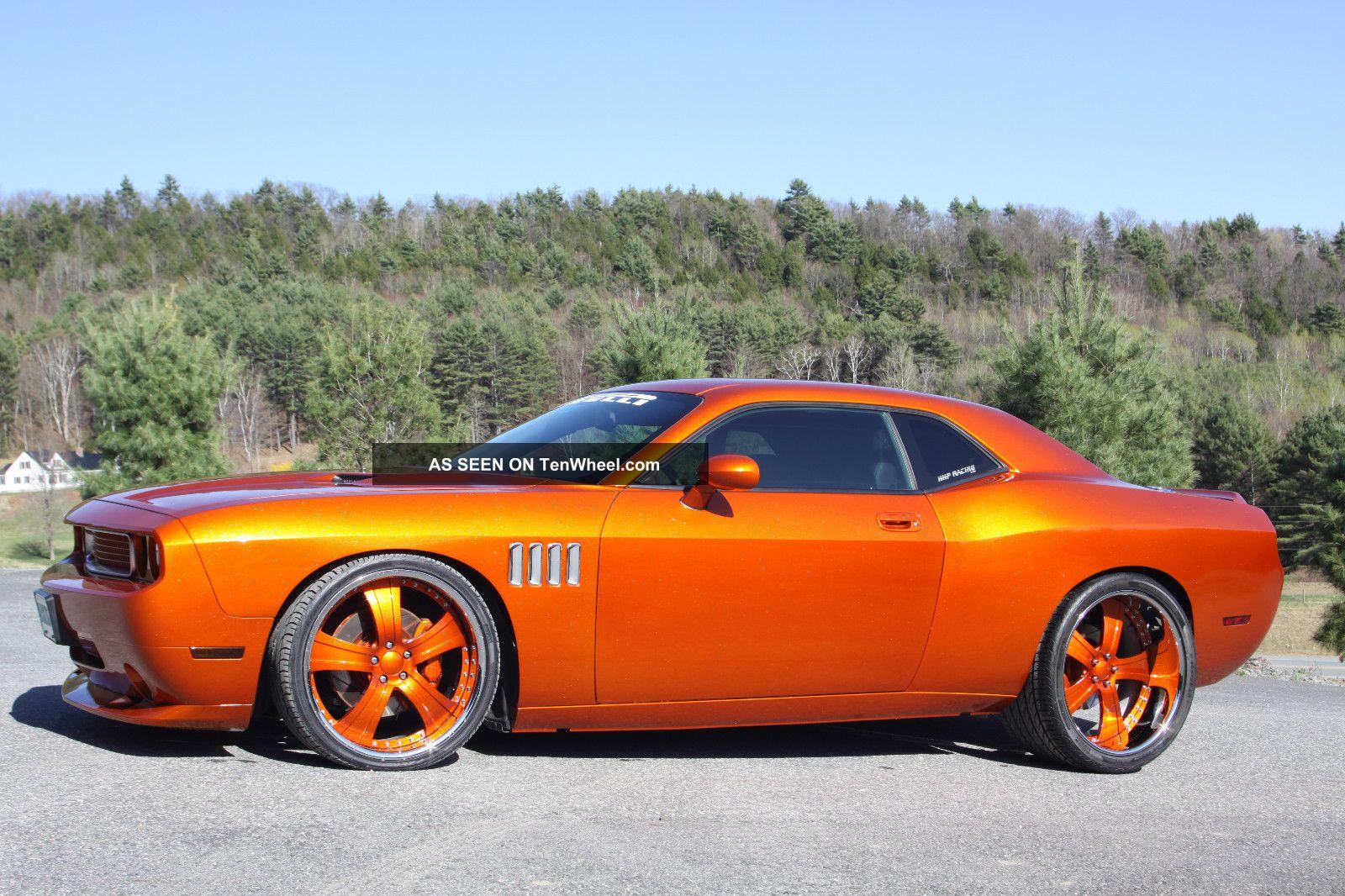 2008 Dodge Challenger Srt8 Coupe 2 - Door 1200hp Blown 440 Wide Body Challenger photo