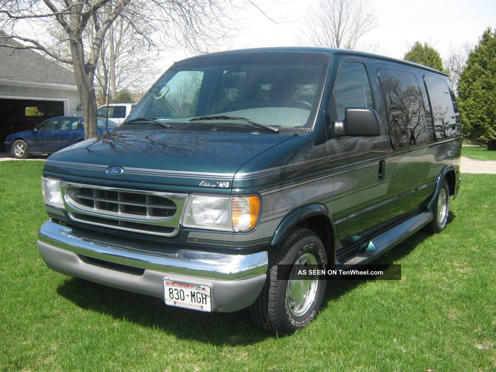 2001 ford e 150 econoline a j elite gt conversion van 4. Black Bedroom Furniture Sets. Home Design Ideas