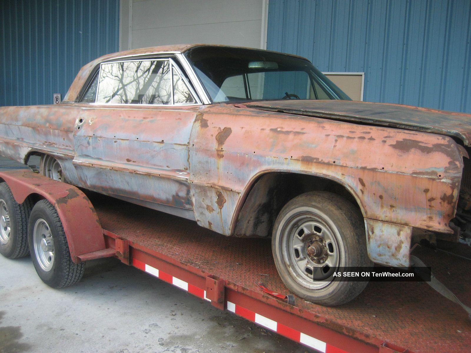 1964 Chevy Impala, Project Car