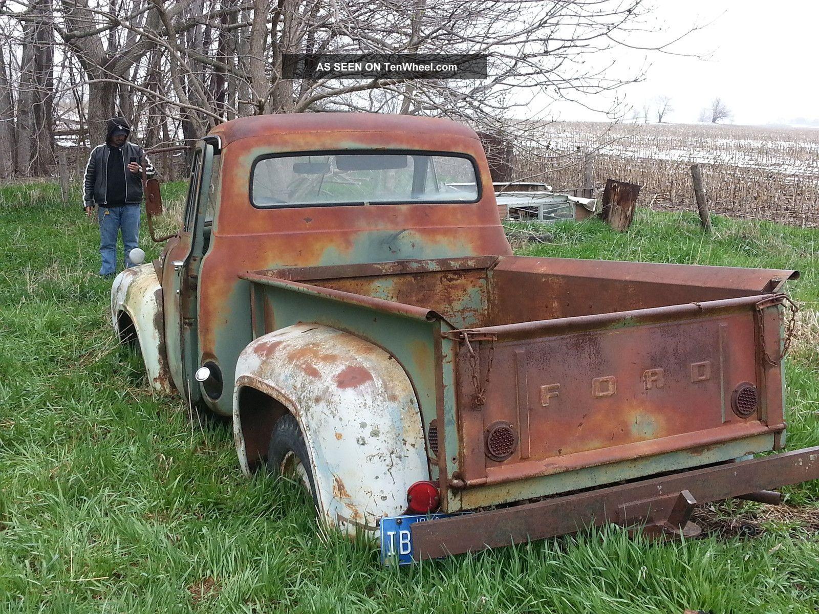 1953 Ford F100 Shortbox 1952 1954 1955 1956 1957 Rat Rod Ratrod Short Bed
