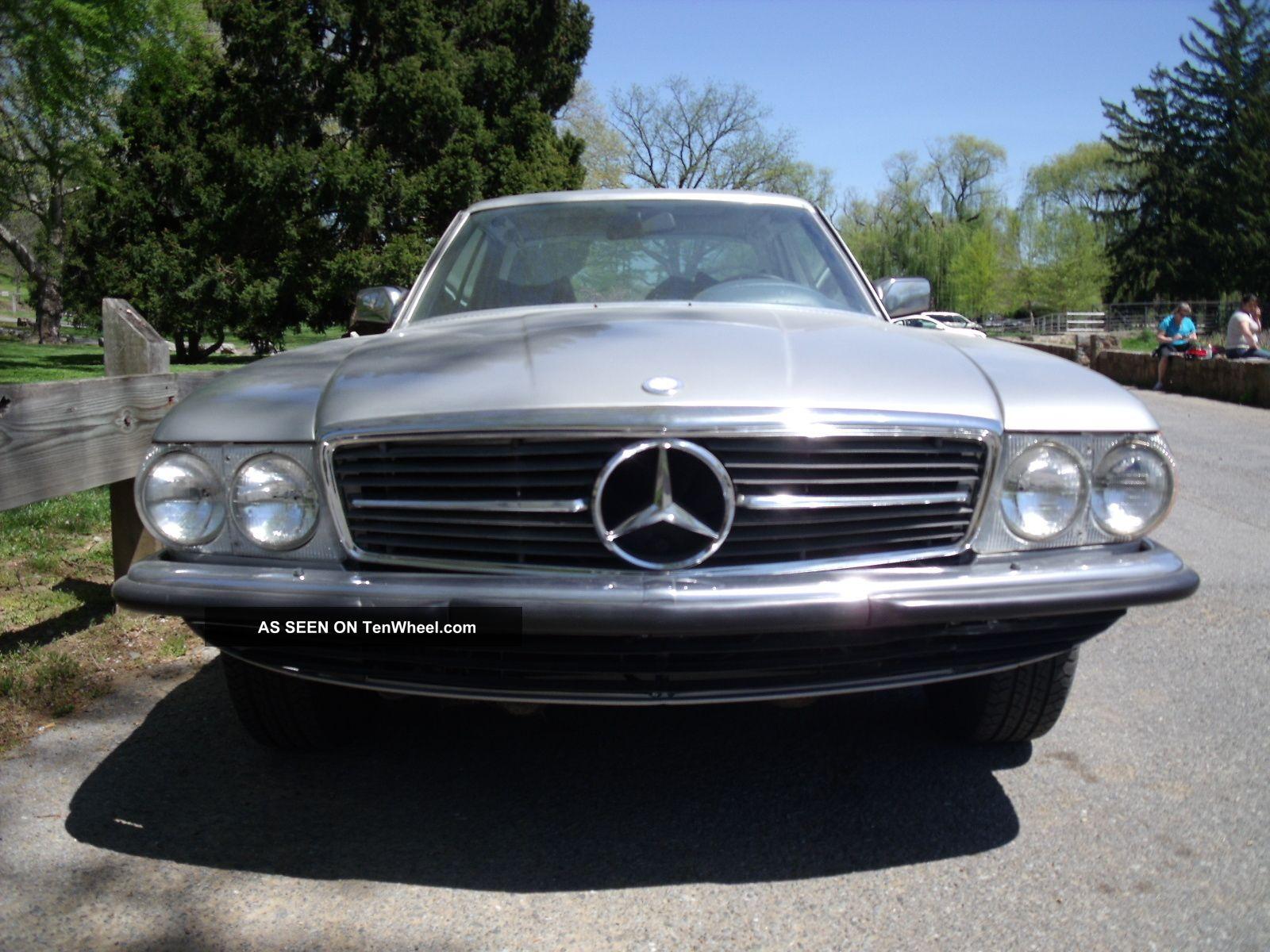 1978 mercedes benz 350 slc european 4spd for Mercedes benz europe
