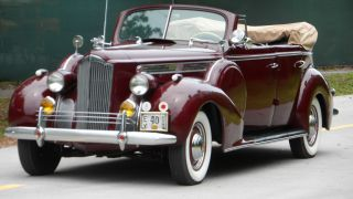 1940 Packard 120 Convertible 4 Door Straight Eight Collector Car photo