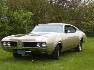1969 Oldsmobile 442 455 Automatic photo