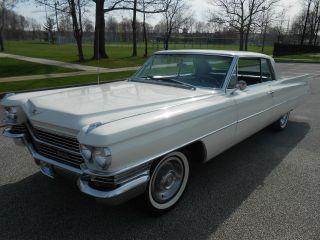 1963 Cadillac Coupe Deville Series 63 California Car photo