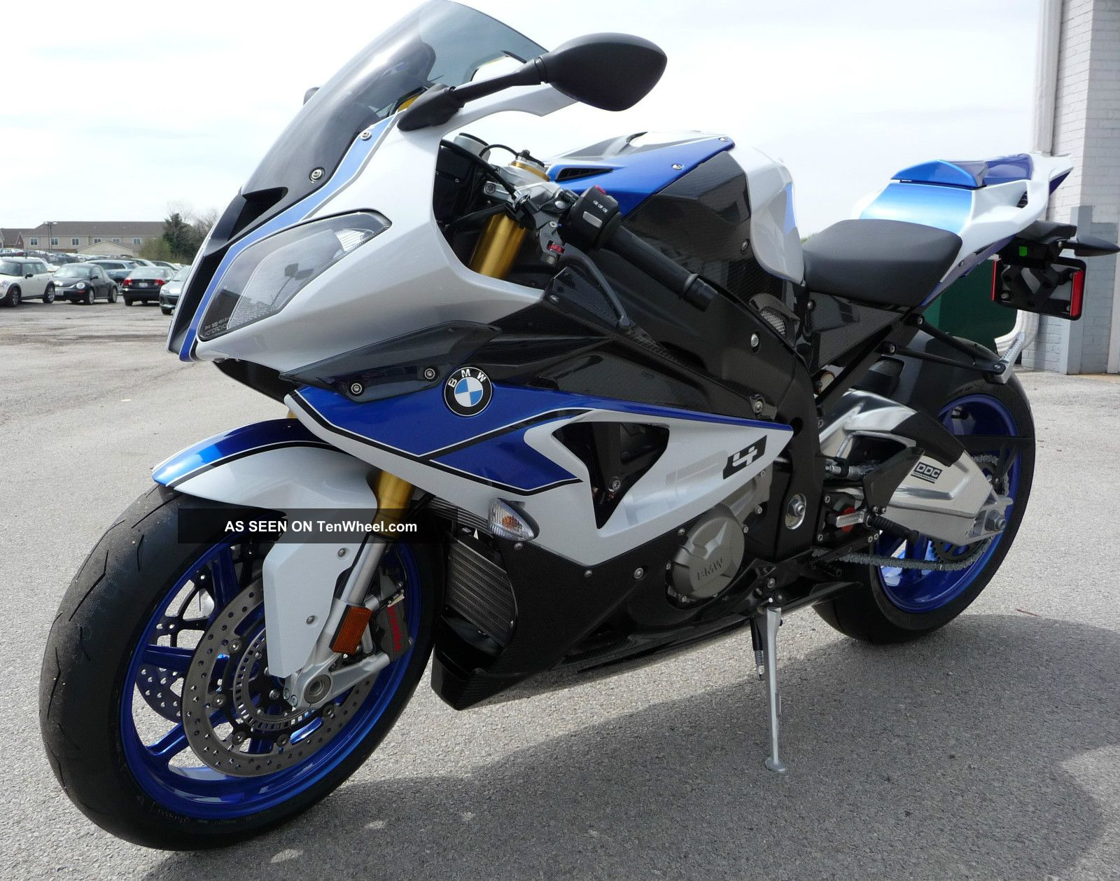 Bmw Hp4 Competition Model Motorcycle 2013 S1000rr Bike