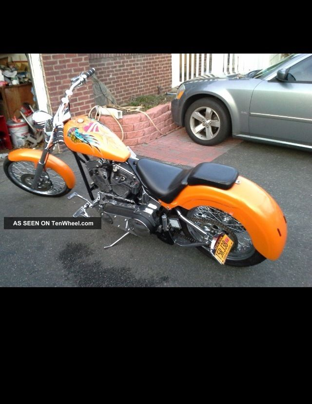 2003 Down And Dirty Softail West Coast Custom Chopper Other Makes photo