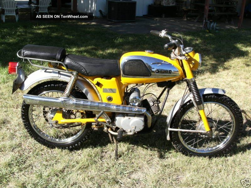 1967 Yamaha Yl2 Trailmaster 100 Awesome Restoration Project