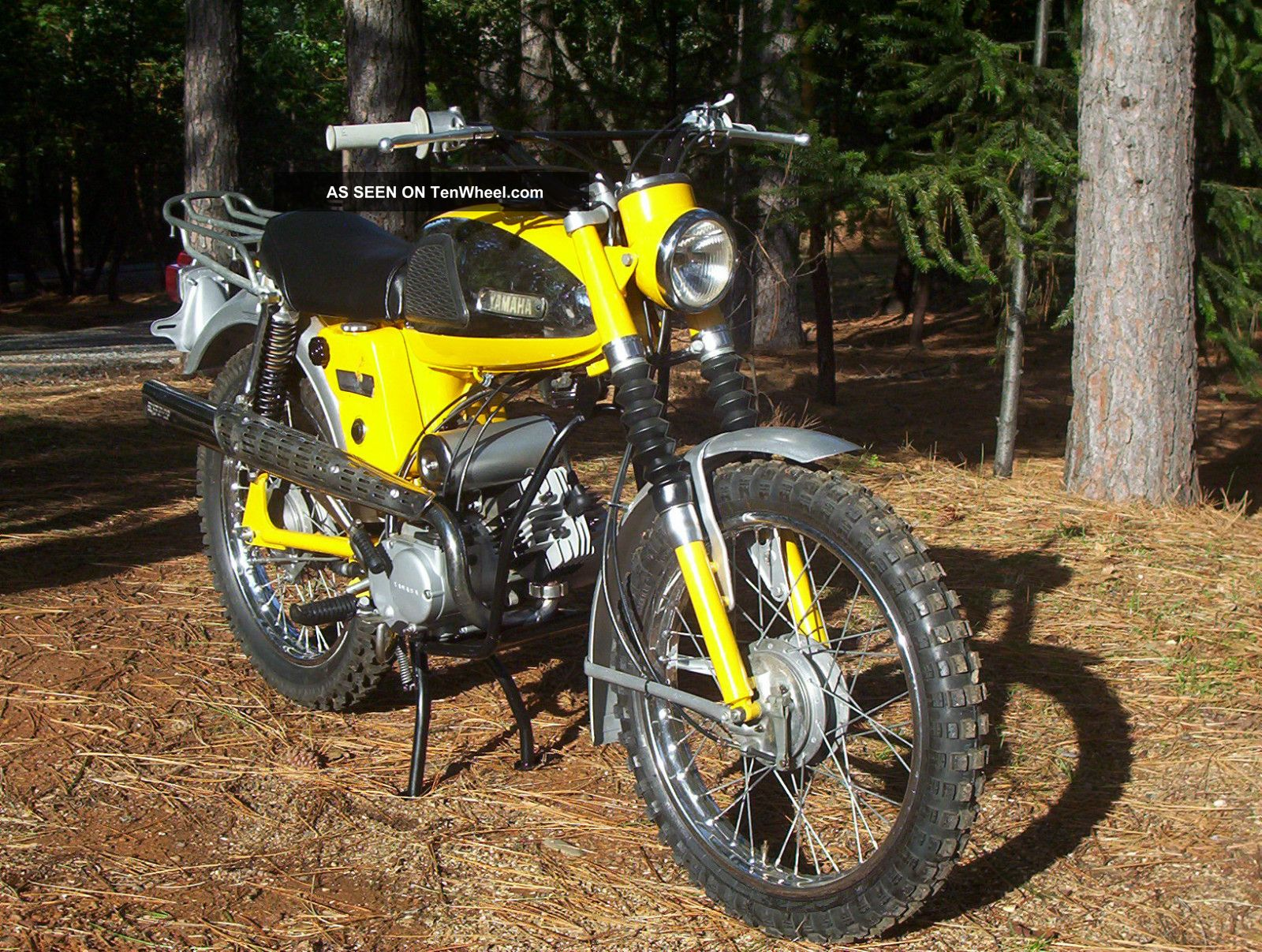Indian Trail Dodge >> 1967 Yamaha Yl2 Trailmaster 100 Awesome Restoration Project