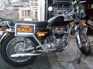 1974 750 Triumph Bonneville Motorcycle photo