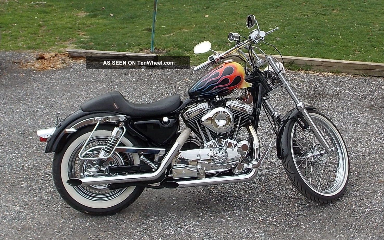 1992 Harley Davidson Sportster Frame Diagram