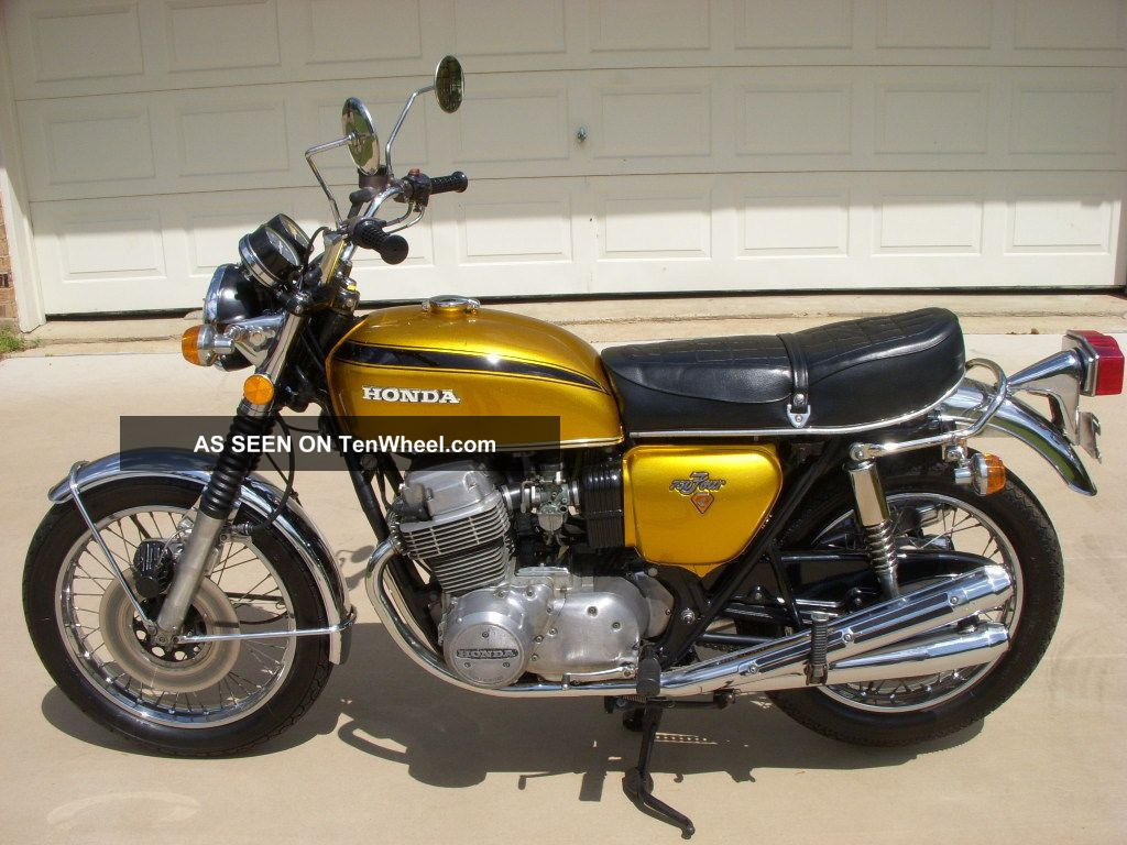 1972 Honda Cb750 Motorcycle CB photo