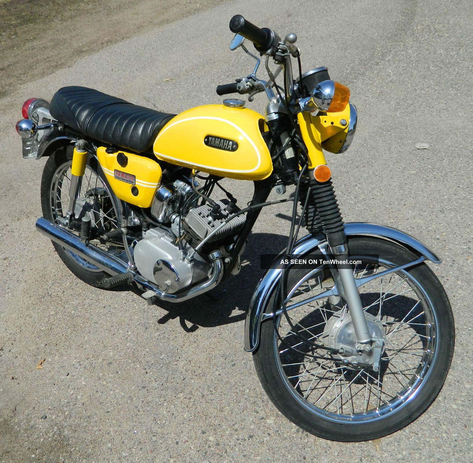 1971 yamaha twin 90cc hs1 baby rd for Yamaha 90cc atv