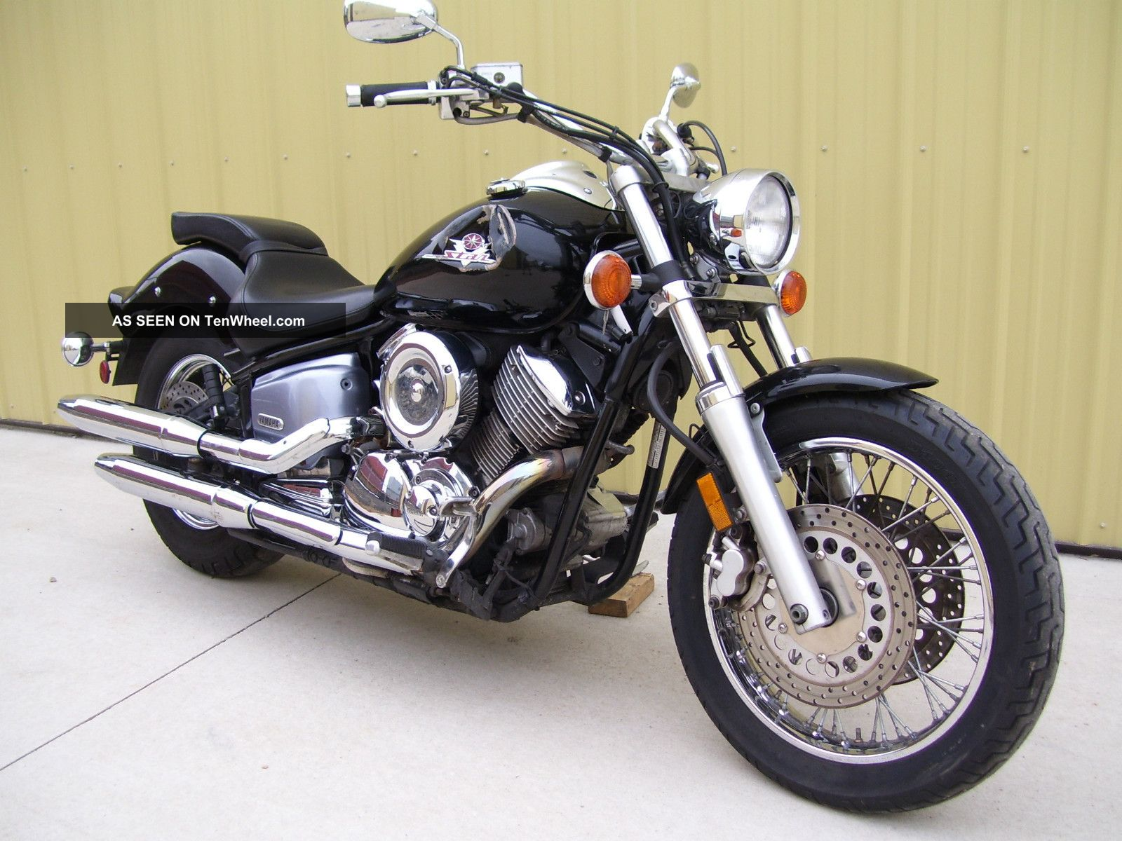 2001 Yamaha Xvs1100 Xvs - 1100 Xvs 1100 Vstar V - Star V Star - Runs + Drives Great V Star photo