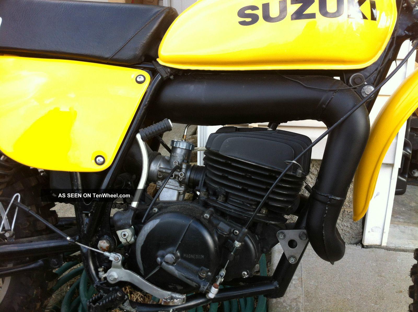 1976 Suzuki Rm RM photo